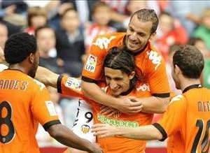 Mehmet Topal ilk golünü Sporting Gijona attı