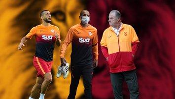 Galatasaray'da kritik toplantıda Belhanda ve Feghouli detayı! Fatih Terim'den flaş talep | Son dakika Galatasaray haberleri