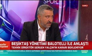 Beşiktaş Mario Balotelli ile anlaştı! Son karar Sergen Yalçın'ın