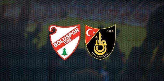 Boluspor - İstanbulspor   CANLI - Son dakika TFF 1.Lig haberleri - Fotomaç