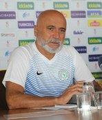 Hikmet Karaman: Oynadığımız lig, mücadele ligi