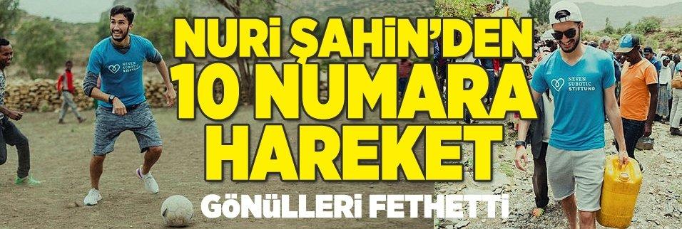 Nuri Şahin'den 10 numara hareket! Gönülleri fethetti