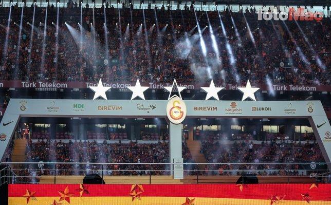 Şampiyonluk gecesinde 5. yıldız detayı!