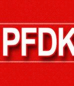 PFDK'dan Galatasaray'a şok!