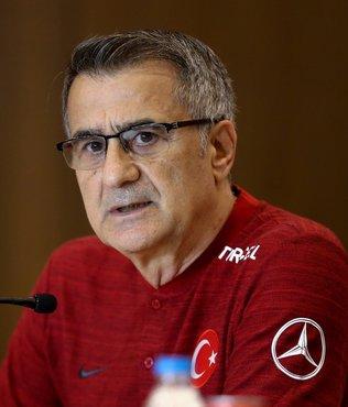 Türkiye A Milli Takım Teknik Direktörü Şenol Güneş basın toplantısı düzenledi