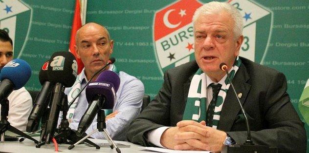 "Bursaspor Başkanı Ali Ay: ""4 oyuncu alacağız"""