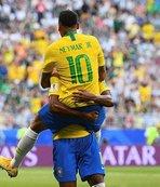Rusya'da samba! Brezilya çeyrek finalde!