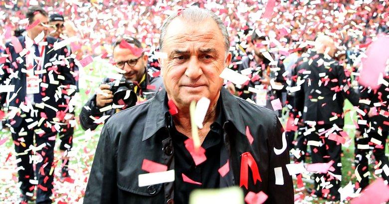 Galatasaray'dan 'şampiyonluk' kutlaması! İşte görüntüler