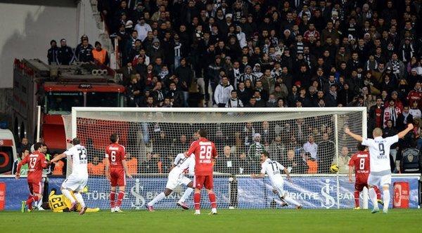 Beşiktaş 1-1 Gaziantepspor