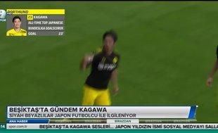 Beşiktaş'ta gündem Kagawa