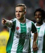 Konyasporlu futbolculardan Türkiye'ye Euro 2024 desteği