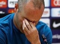 Iniesta'dan Barcelona'ya duygusal veda