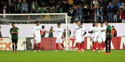 Maç sonucu | Akhisarspor 2-3 Sevilla | ÖZET