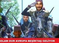 Beşiktaş gruptan çıktı Capsler patladı!