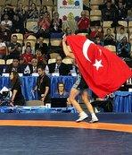 Dünya Şampiyonası'nda 8 madalya