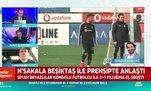 Beşiktaş N'Sakala ile anlaşmaya vardı