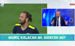 """Canlı yayında flaş sözler! """"Fenerbahçe Muriqi'yi çok arar"""""""