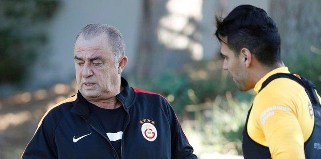 Galatasaray'ın yıldızı Falcao ile ilgili şok rapor!