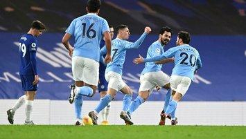 Manchester City Chelsea'ye patladı