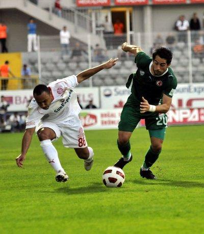 Antalyaspor - Bursaspor Spor Toto Süper Lig 11. hafta maçı