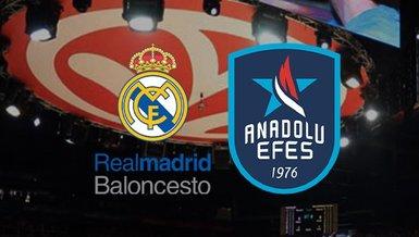 Real Madrid - Anadolu Efes maçı ne zaman? Saat kaçta? Hangi kanalda canlı yayınlanacak?