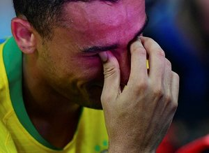 Danilo'nun gözyaşları Brezilya - Arjantin maçının önüne geçti!