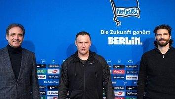 Hertha Berlin'in teknik direktörü belli oldu!