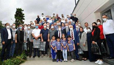 Trabzonspor Başkan Yardımcısı Ertuğrul Doğan'dan anlamlı davranış