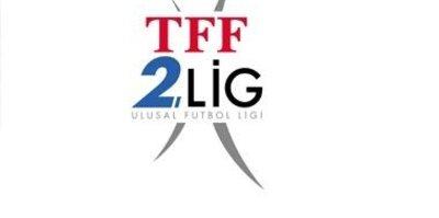 TFF 2. Lig'de haftanın sonuçları