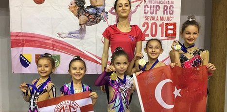 Antalyaspor'un sporcuları 2 altın ve 2 gümüş madalya kazandı