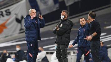 Mourinho ve Lampard saha kenarında tartıştı! İşte o anlar...