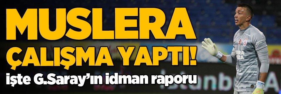 fernando muslera calisma yapti iste gsarayin idman raporu 1593687639899 - Nagatomo Türk halkına ve Galatasaray taraftarına seslendi: Sizi çok özleyeceğim!