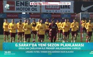 Galatasaray'da yeni sezon planlaması