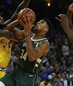 Bucks, Warriors'ı farklı yendi