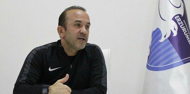 """BB Erzurumspor Teknik Direktörü Özdilek: """"Hiçbir rakipten çekinmiyoruz"""""""