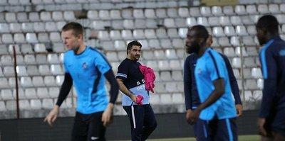 Adana Demirspor play-off yarı final maçının antrenmanlarını tamamladı