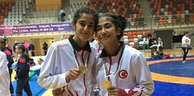 Güreşci kızların sonraki hedefi Dünya Şampiyonluğu