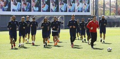 Osmanlıspor, Fenerbahçe maçının hazırlıklarını sürdürdü