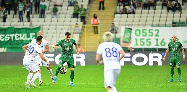 Bursaspor kupada avantaj peşinde
