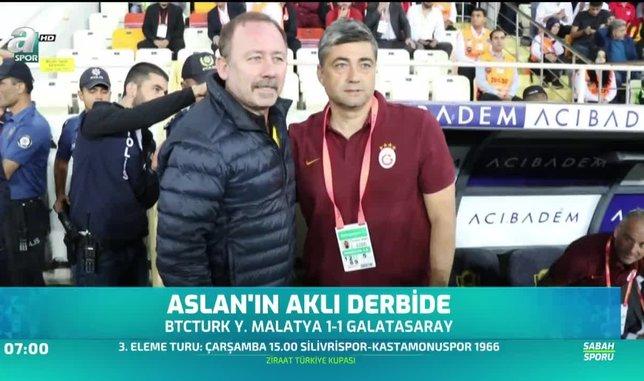 Galatasaray'ın aklı derbide
