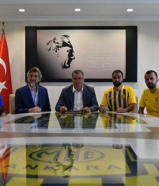 MKE Ankaragücü'nde 5 futbolcu ile sözleşme uzatıldı