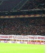 Galatasaray adına buruk şölen