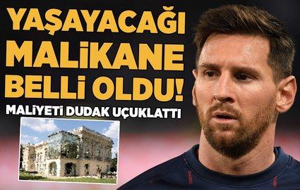 Messi'nin yaÅŸayacağı malikane görücüye çıktı!