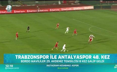 Trabzonspor'dan Antalya'ya büyük üstünlük!