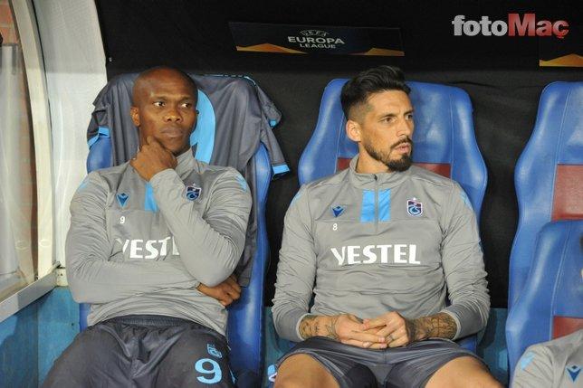 Trabzonspor'da Jose Sosa müjdesi!