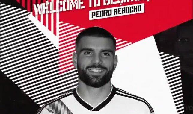 Beşiktaş Pedro Rebocho'yu böyle duyurdu
