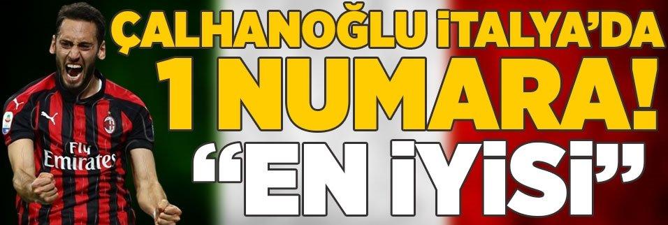 """hakan calhanoglu italyada 1 numara 1592923119998 - İtalya'da gündem Hakan Çalhanoğlu! """"Milan'ın en iyisi"""""""