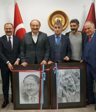A Milli Takım Teknik Direktörü Şenol Güneş'ten Trabzonspor'a ziyaret