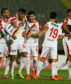 Göztepe'den 3 gollü galibiyet