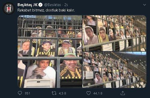 besiktas fenerbahce derbisi oncesi dostluk mesajlari 1595165843303 - Beşiktaş ve Fenerbahçe'den dostluk mesajı! Derbi öncesi...